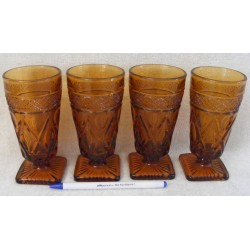 Imperial Cape Cod Footed Juice Glasses 4