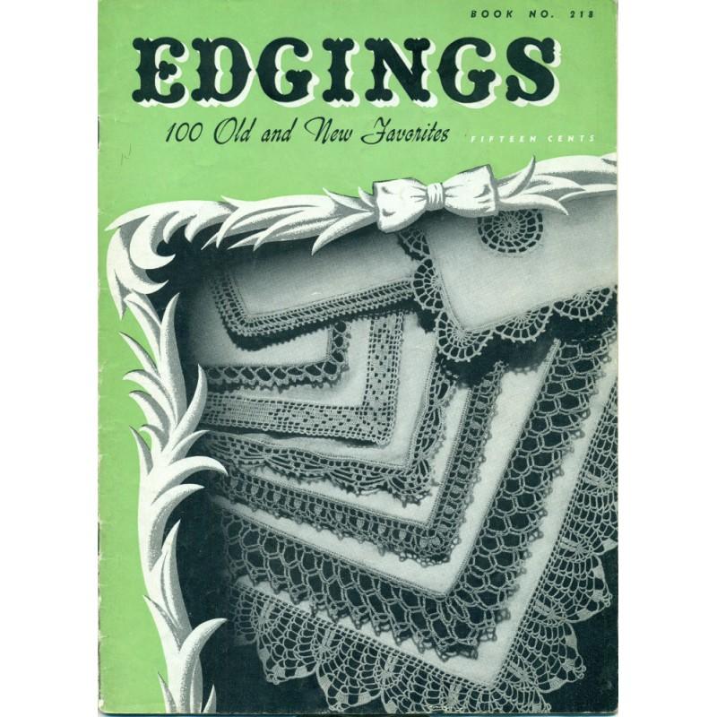 Crochet Edging Patterns Knit Lace Blanket Angel Elegance Vintage