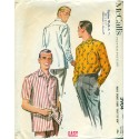 Mens Sewing Pattern Shirt 1950s McCalls