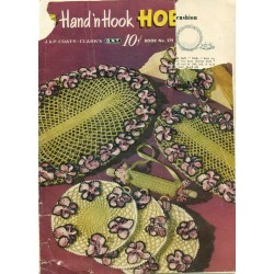 Crochet Pattern Book Doily Edgings Novelty
