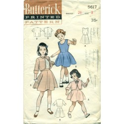 Girls Sewing Pattern Skirt Jumper Bolero