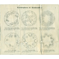 Edwardian Embroidery Kit Catalog Pages