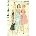 Evening and Day Dress Sewing Pattern 60s