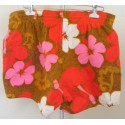 Mens Swim Trunks Hawaiian Shorts 1980s