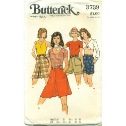 Culottes Shorts Pattern Womens Butterick