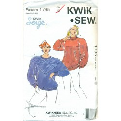 Womens Sweatshirt Sewing Pattern Kwik Sew