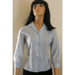 Womens Blouse Top Blue Ship N Shore