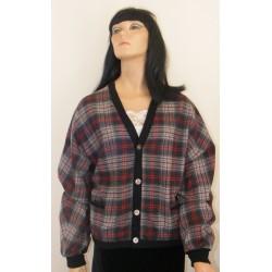 Mens Pendleton Wool Cardigan Jacket 1960s