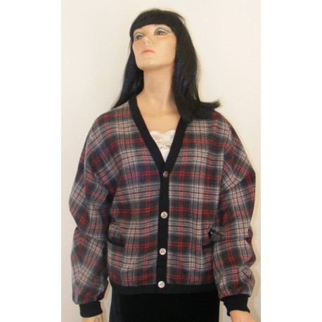 Mens Pendleton Wool Cardigan Jacket 1960s