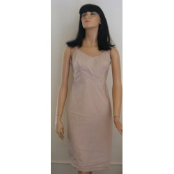 Full Slip Beige Tan Snip-It Taffeta NWT