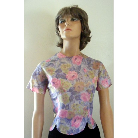 Womens Blouse Lee Floral