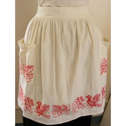 Cute Retro Apron X Stitch