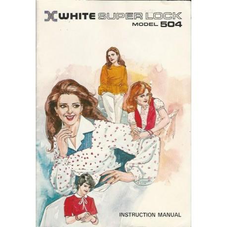 Serger White Superlock 504 Manual