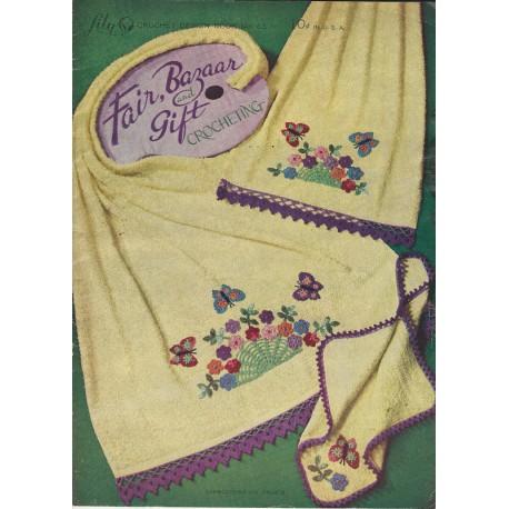 Crochet Patterns Lily 63 Bazaar
