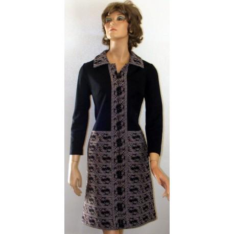 Womens Dress Leslie Pomer 1970s