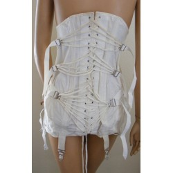 Fan Laced Corset Girdle Camp