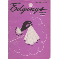 Crochet Edgings Patterns 236 40s