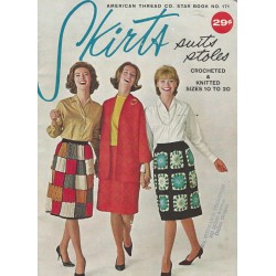 Skirt Crochet Knit Pattern 171