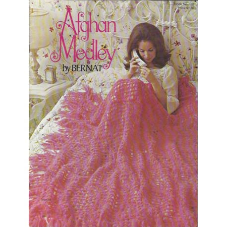 Afghan Blanket Patterns 188 70s