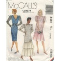 Womens Party Dress Pattern 4141