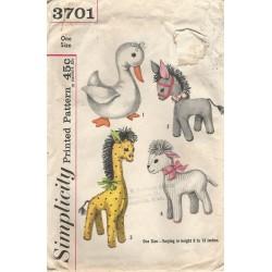 Animal Pattern Simplicity 3701