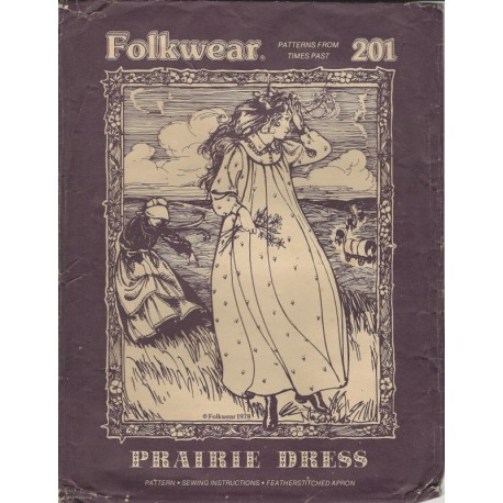 Prairie Dress Retro Pattern 201