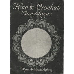 Crochet Cluny Lace Patterns 1915