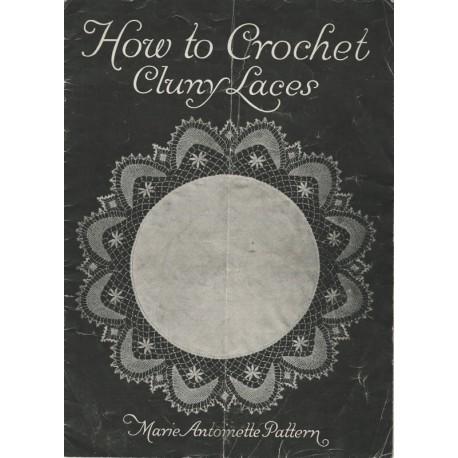 Crochet Cluny Lace Patterns 1915