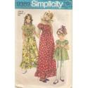 Girls Peasant Dress Pattern 9389