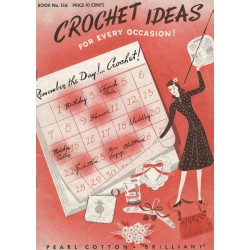 1940s Crochet Patterns 156 Spool
