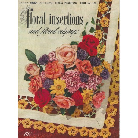 Crochet Tat Insertions Edgings 263