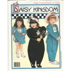 Daisy Kingdom Girls Coverall Kit 5035