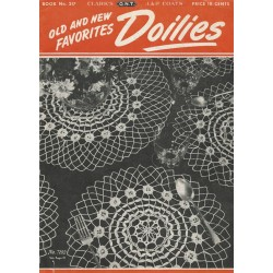 Doily Crochet Patterns 217 40s