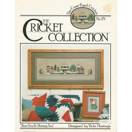 Cricket Collection Cross Stitch Pat
