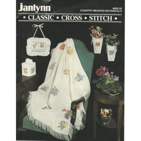 Janlynn Cross Stitch Floral 900-28