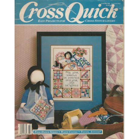 Cross Quick Mag Cross Stitch