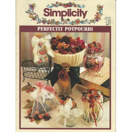 Simplicity Potpourri Instructions 3877