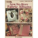 No Sew Fabric Album Patterns 1522