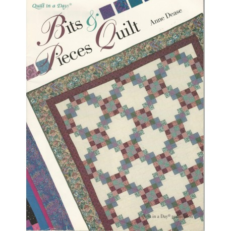 Bits Pieces Quilt Pattern in a Day