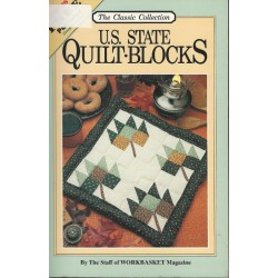 US State Quilt Blocks Workbasket