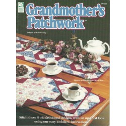 Grandmothers Patchwork Quilt Pat