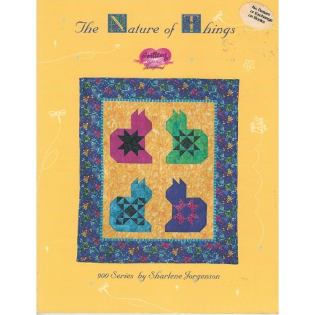 Nature of Things Quilt Pat Book