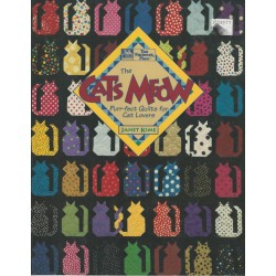 Cat's Meow Quilt Pattern Book