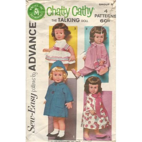 Advance Chatty Cathy Doll 2898