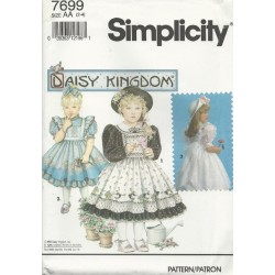 Girls Daisy Kingdom Dress 7699