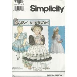 Girls Daisy Kingdom Dress 7699