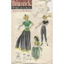 1950s Dancing Girl Pattern 6344
