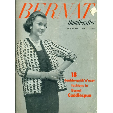 Bernat Knit Pattern Book 174 Download