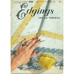 Vintage Edgings Instruction Book - Crochet, Knit, Tatting & More