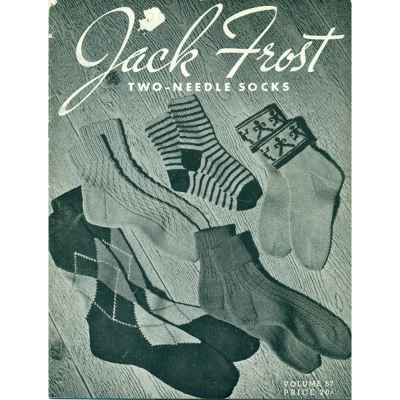 Knitting Patterns 2 Needle Sock PDF